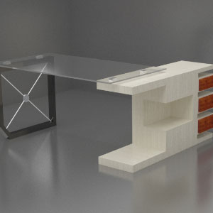 میز مدیریتی مدرن MM-12