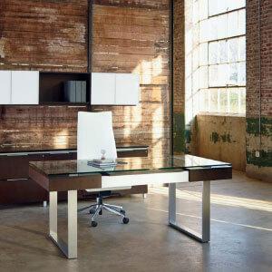 میز اداری مدرن فلزی